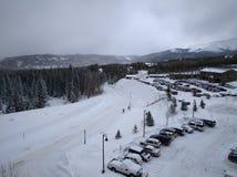 Winter time in Breckenridge Colorado Royalty Free Stock Image