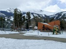 Winter time in Breckenridge Colorado Royalty Free Stock Photos