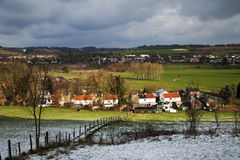 Winter time on the farmland from Stokhem Stock Photo