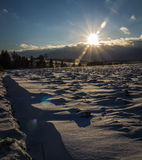Winter time. Shot in Czech republic Royalty Free Stock Photography