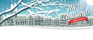 Winter Timeline cover No 1 Royalty Free Stock Photo