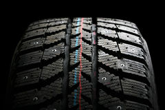 Winter tire. Royalty Free Stock Image