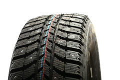 Winter tire. Stock Image