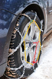 Winter tire Royalty Free Stock Image