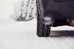 Winter tire Royalty Free Stock Photography