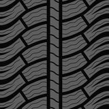 Winter tire seamless pattern Stock Photography