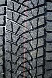 Winter tire tread Stock Photography