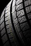 Winter tire tread Royalty Free Stock Photo