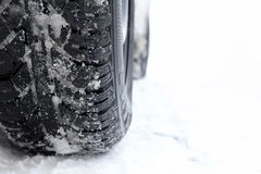 Winter tires Stock Photography