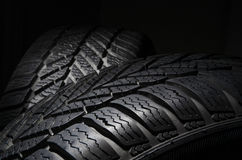 Winter tires Stock Image