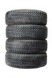 Winter tires Royalty Free Stock Image
