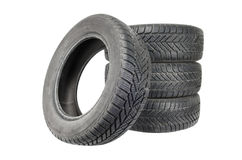 Winter tires Royalty Free Stock Photography