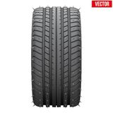 Winter tires with metal spikes. Royalty Free Stock Photos