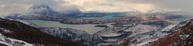 Winter in Torres del Paine Stock Photo