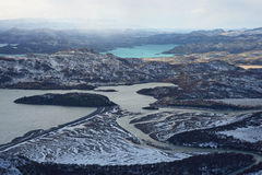 Winter in Torres del Paine Royalty Free Stock Photos