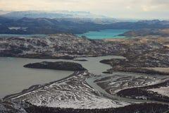 Winter in Torres del Paine Stock Photos