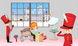 Winter Toy Stock Photos