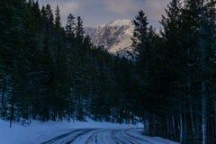 Winter on Trail Ridge Road. Rocky Mountain National Park, Estes Park, Colorado Stock Photo