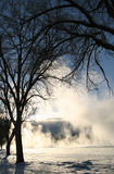 Winter-Traumserie 7 stockfoto