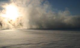 Winter-Traumserie 8 stockbild