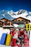 Winter travel Royalty Free Stock Image
