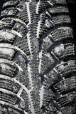 Winter tread wheel Stock Images
