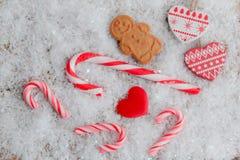 Winter Treats Royalty Free Stock Photography