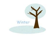 Winter Tree Royalty Free Illustration