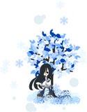 Winter tree-1 Stockfotografie