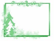 Winter Tree Frame Stock Image