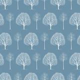 Winter trees Stock Photography