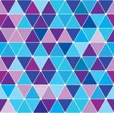 Winter triangle pattern 2.7 Stock Photo