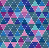 Winter triangle pattern 2.9 Royalty Free Stock Image