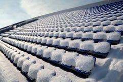 Winter tribune Stock Images