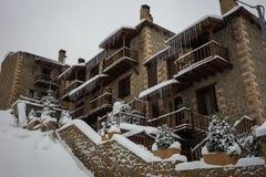 Winter in Trikala Korinthias, Peloponnes, Griechenland Stockfotografie