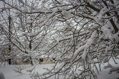 Winter at Trikala Korinthias, Peloponnese, Greece Stock Photos