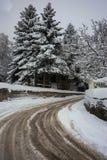 Winter at Trikala Korinthias, Peloponnese, Greece Stock Photography