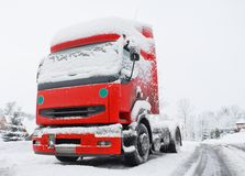 Winter truck Royalty Free Stock Photo