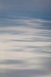 Winter tundra from above Stock Photo