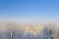 Winter in Turin. Stock Photos