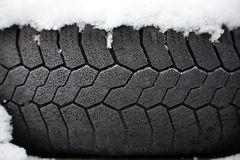 Winter tyre Royalty Free Stock Image