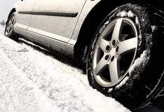 Winter tyre Royalty Free Stock Photo