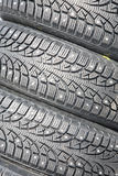 Winter tyre Stock Photos