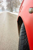 Winter tyre Royalty Free Stock Photos