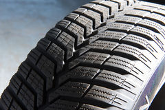 Winter tyre Royalty Free Stock Images