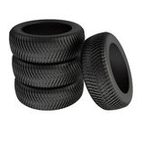 Winter tyres Royalty Free Stock Photo
