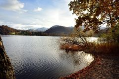 Winter on Ullswater Royalty Free Stock Photography
