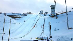 Winter Universiade. stock video