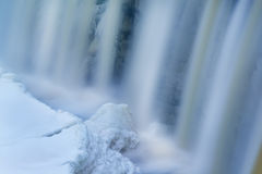 Winter, Upper Tahquamenon Falls Royalty Free Stock Images