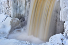 Winter, Upper Tahquamenon Falls Royalty Free Stock Photos